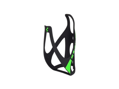 Cube Flaschenhalter HPP matt black-n-green