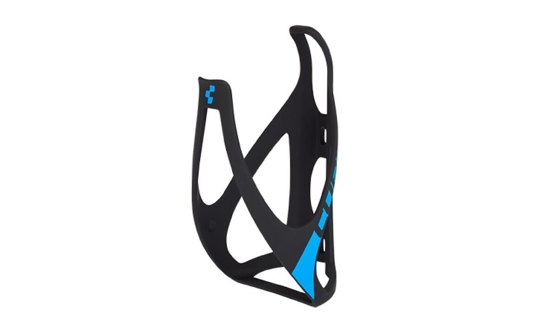 Cube Flaschenhalter HPP matt black-n-blue