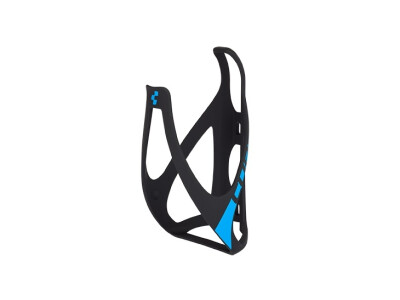 Cube Flaschenhalter HPP matt black-n-blue