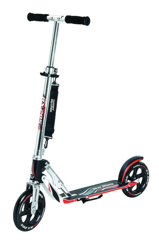 Hudora HUDORA Scooter Big Wheel RX 205 Alu schwarz/rot