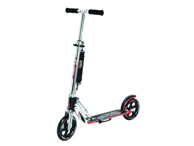 Hudora Scooter Big Wheel RX 205 Alu schwarz/rot