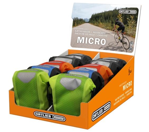 Ortlieb Saddle-Bag Micro orange