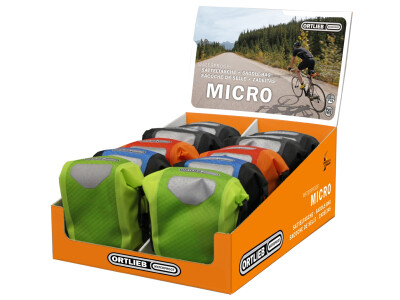 Ortlieb Saddle-Bag Micro orange