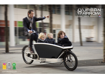 Urban Arrow Family 500Wh Bosch CargoLine 85Nm