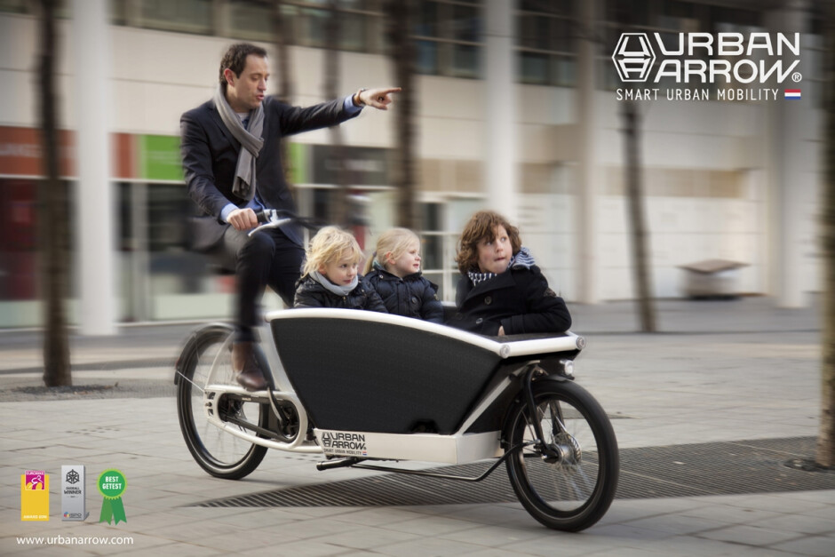 Urban Arrow Family 500Wh Bosch Performance CX