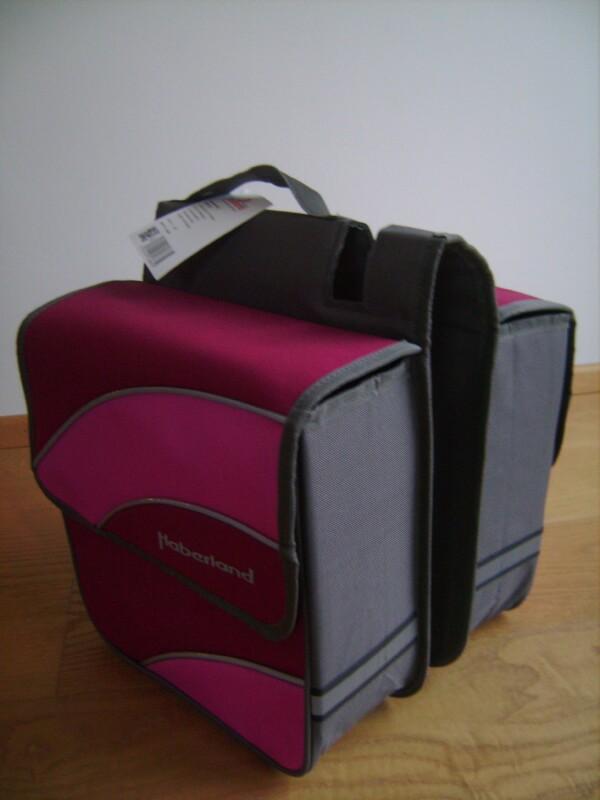 HaberlandGepäckträger-Doppeltaschen Kim M