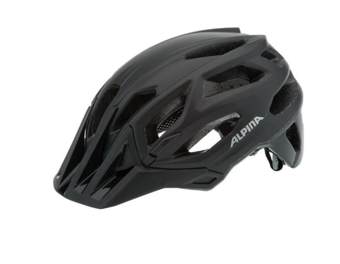 Alpina Garbanzo Helm Schwarz