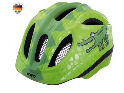 KED Meggy Kinderhelm Green Croco