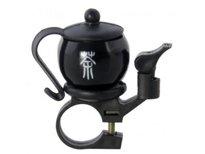LIIX Funny Bell Tea Time Black II Fahrradklingel