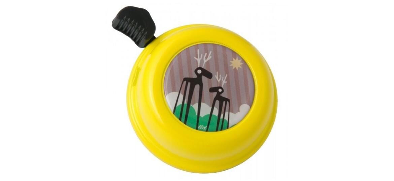 LIIX Colour Bell Ciervo Yellow Fahrradklingel