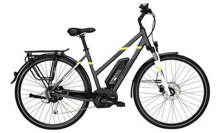 Pegasus - Solero E8 E-Bike Trapez Grau-Matt Modell 2017