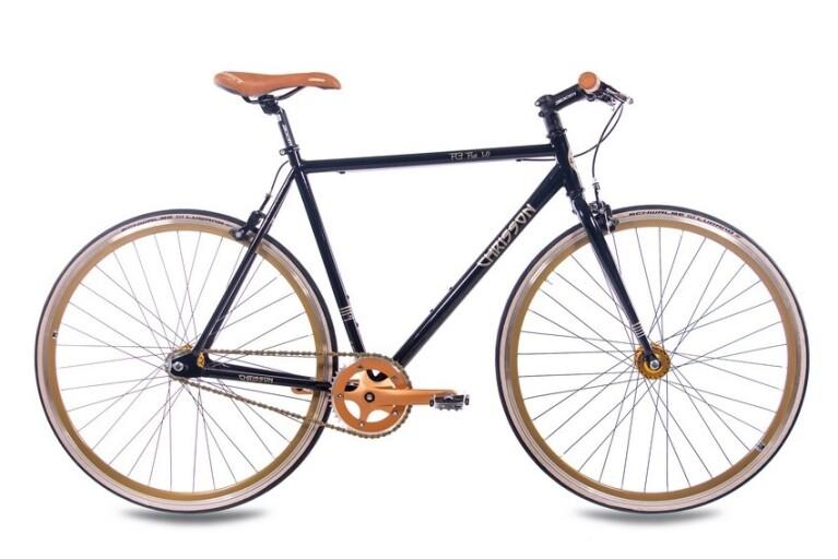 Chrisson - FG-1.0 Flat schwarz gold