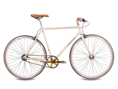 FGS CrMo Gent 2S Kick Shift Sturmey Archer creme gold