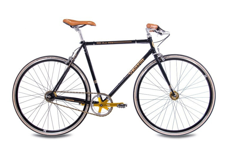 Chrisson - FGS CrMo Gent 2S Kick Shift Sturmey Archer schwarz gold