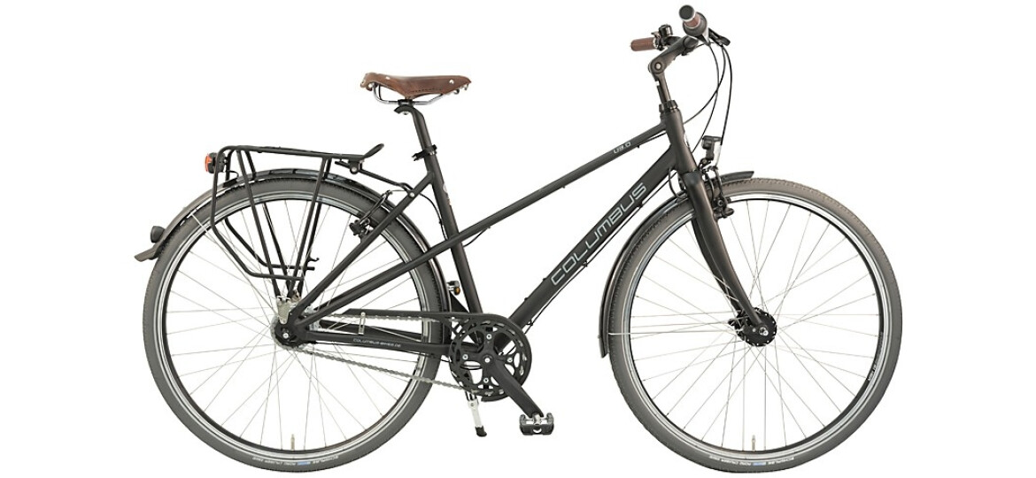 Columbus Urban 3.0 Mixte schwarz matt