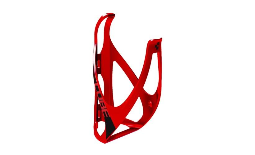 Cube Flaschenhalter HPP matt red-n-black