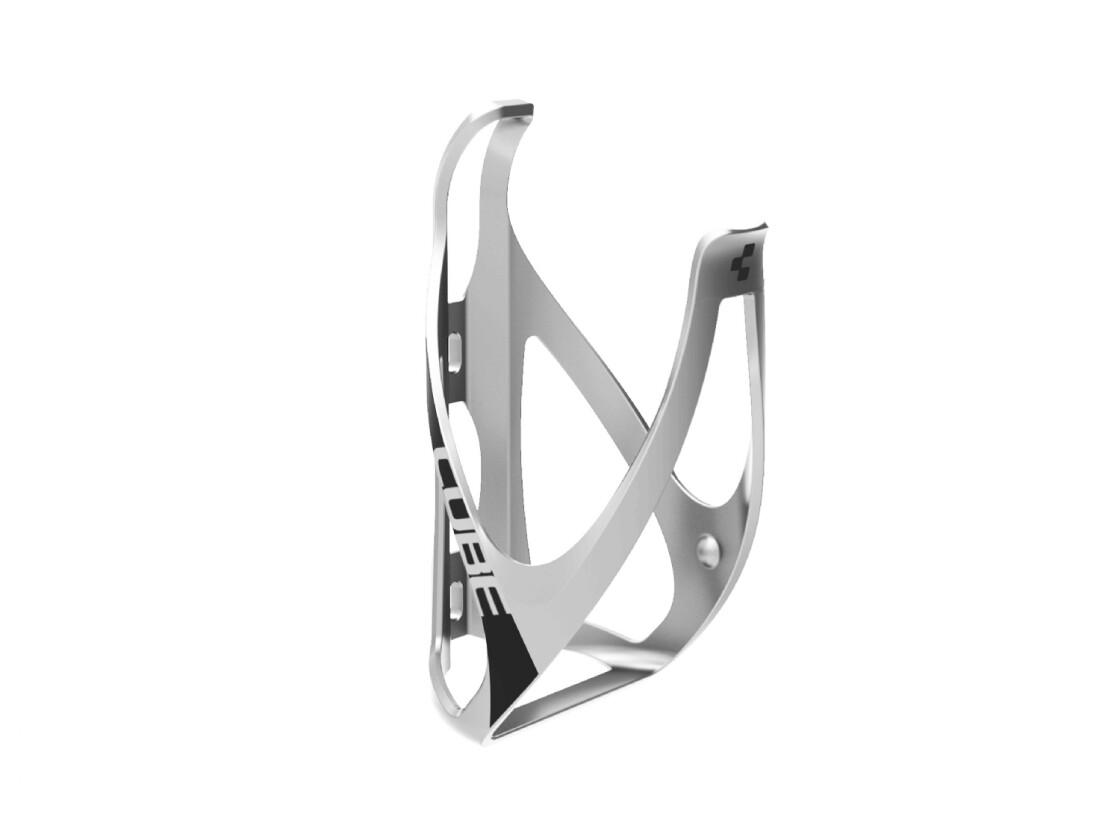 Cube Flaschenhalter HPP matt light-grey-n-black