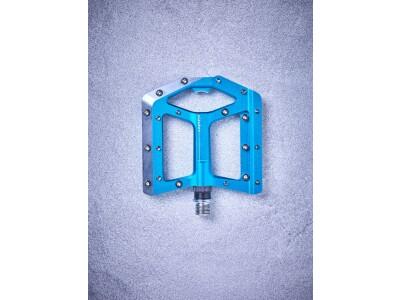 Cube Cube Flat Pedals Slasher, blau