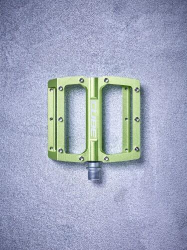 Cube Flat Pedals All Mountain, grün
