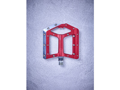 Cube Cube Flat Pedals Slasher, rot