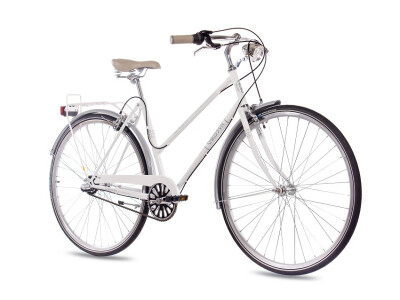 VINTAGE CITY LADY 3G SHIMANO NEXUS white glossy