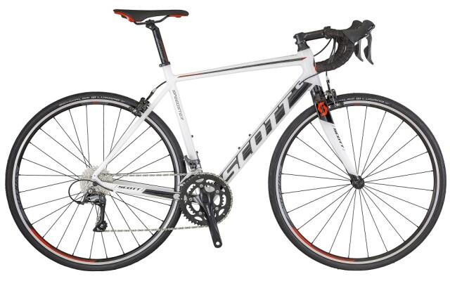 Scott - Speedster 40 weiß-schwarz