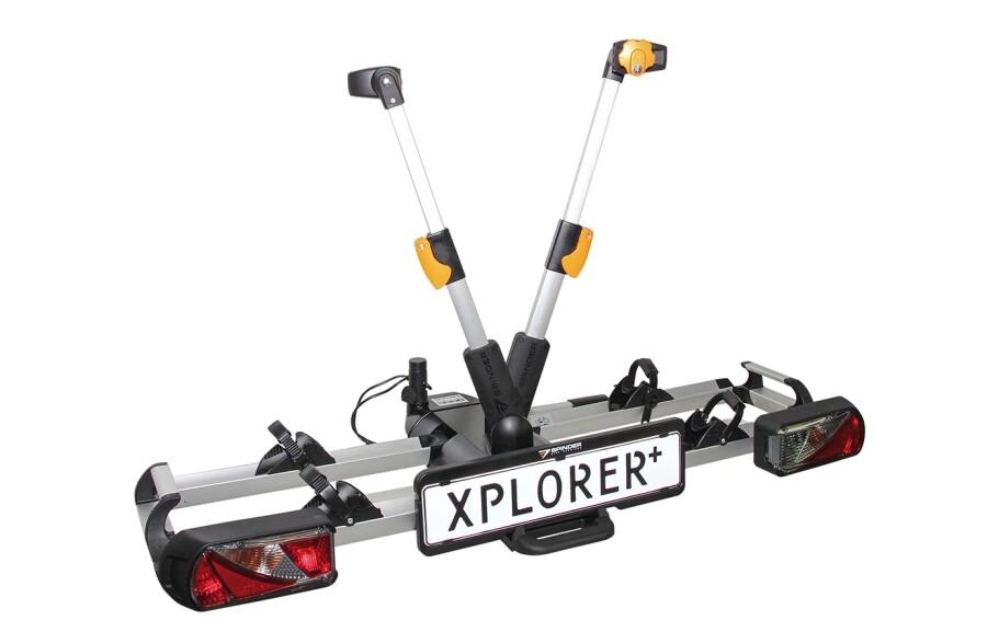Spinder Heckträger XPlorer + 2 Räder