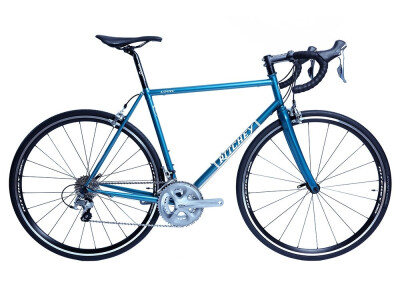 COMP ROAD LOGIC Rennrad in exquisiter Skyline Blue-Lackierung