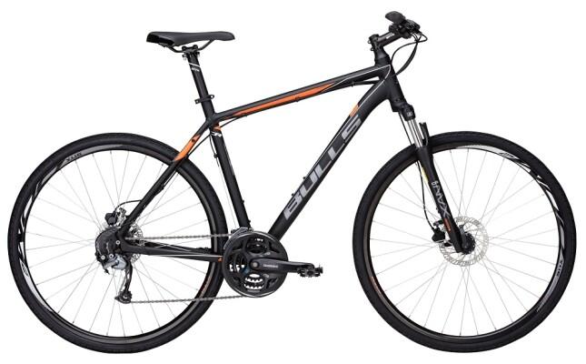 Bulls - Crossbike 1 Herren schwarz-matt-orange