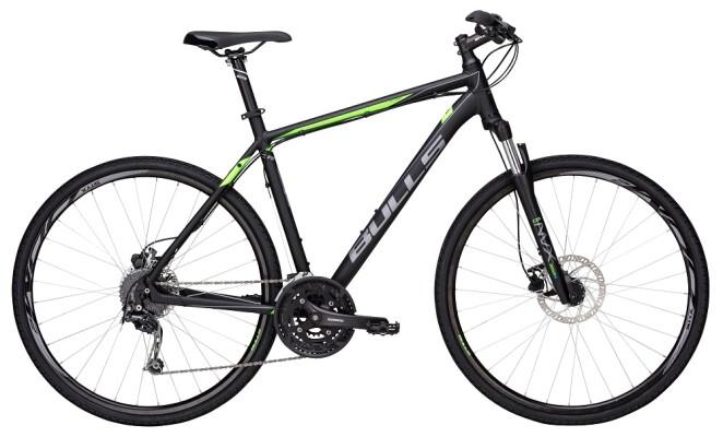 Bulls - Crossbike 2 Herren schwarz-matt-grün