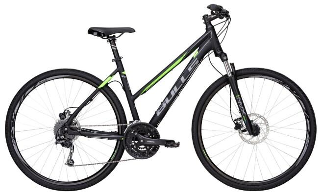 Bulls - Crossbike 2 Damen schwarz-matt-grün