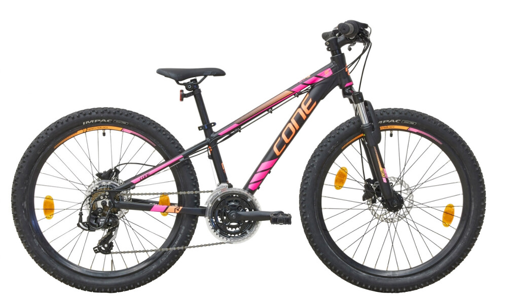 CONE Bikes - 240 MTB 21 DISC (Schwarz-Pink-Orange)