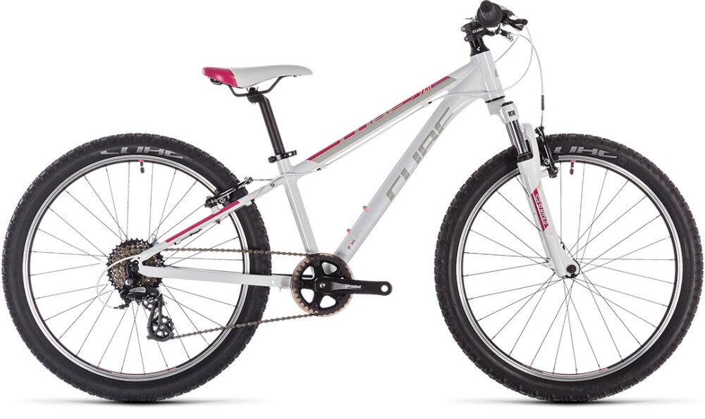Cube - Access 240 Kid (White-Red-Coral)