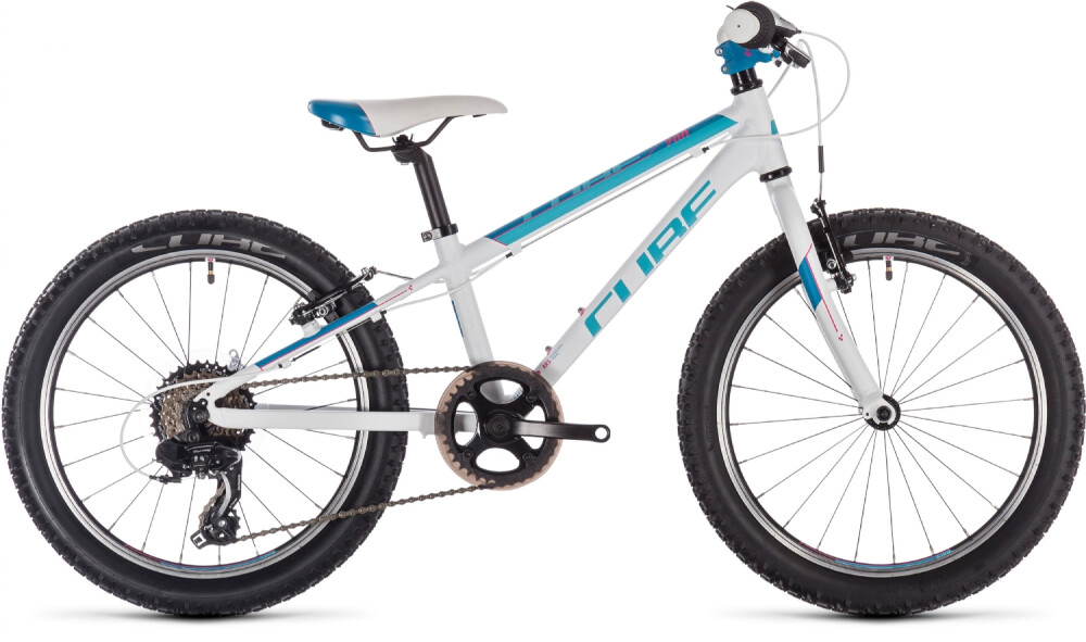 Cube - Access 200 Kid (White-Blue-Pink)