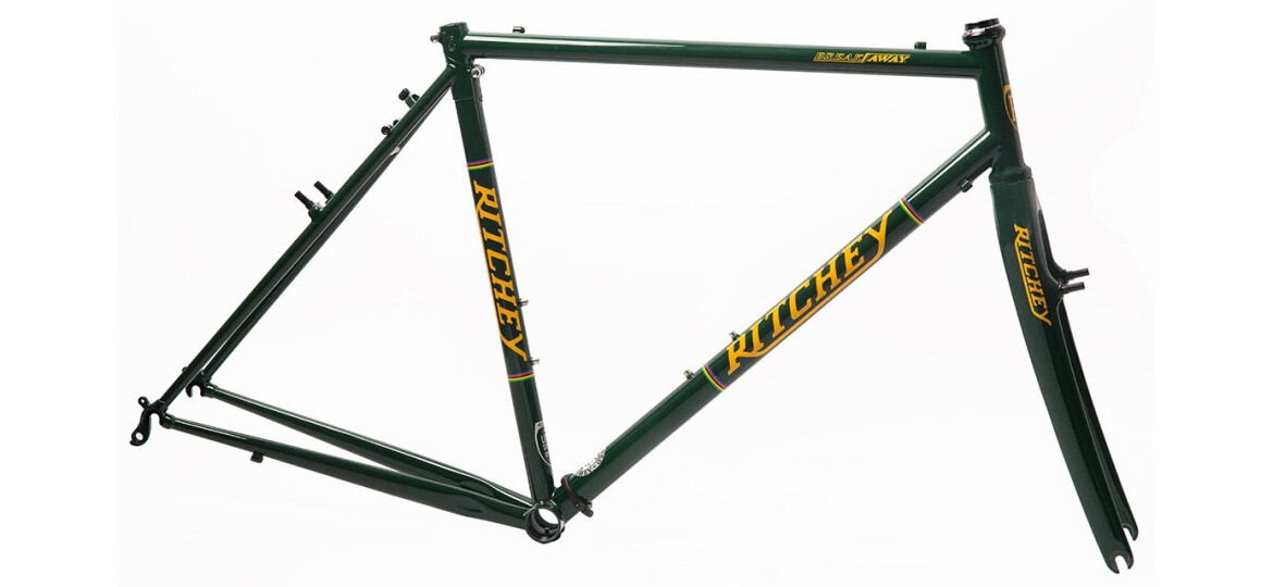 Ritchey Break-Away Cross Frameset british racing green-yellow