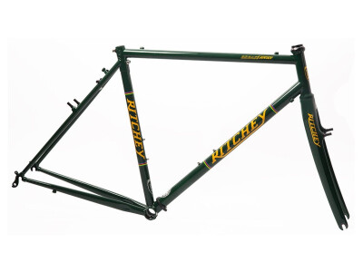 Break-Away Cross Frameset british racing green-yellow