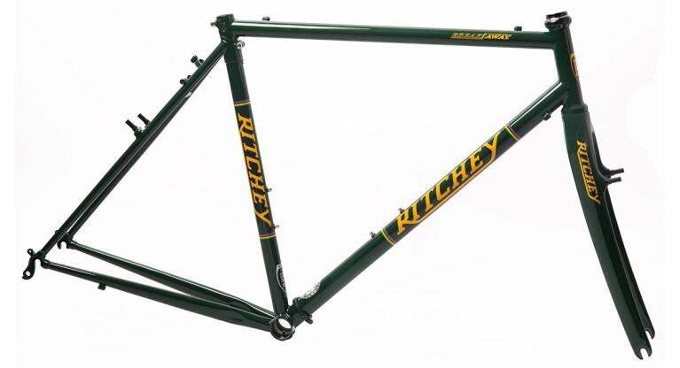 Ritchey - Break-Away Cross Frameset british racing green-yellow