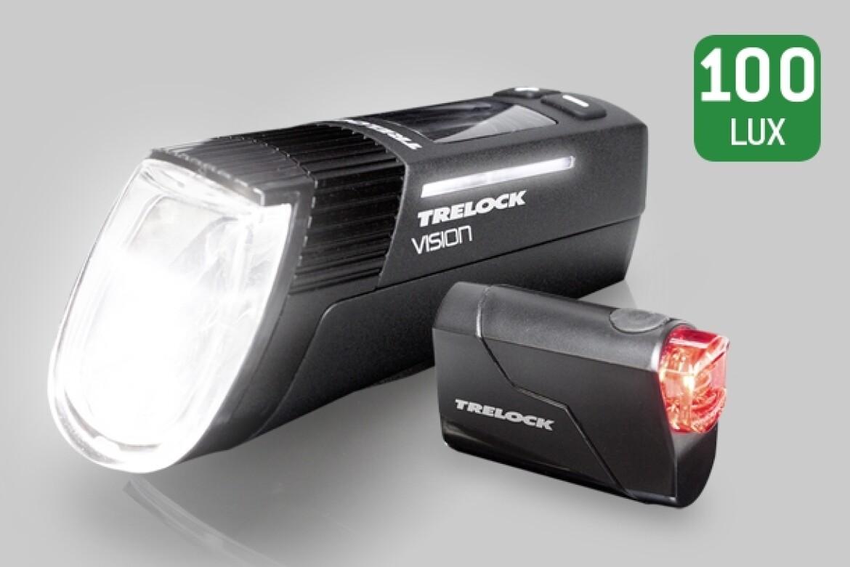 Trelock LS 760 I-GO VISION Set
