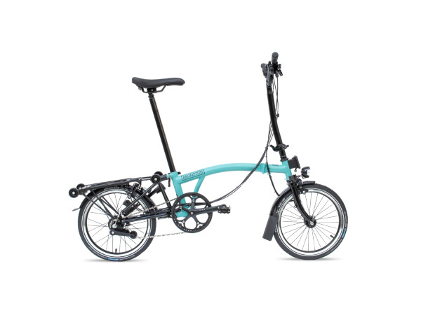 Brompton H6-RD Black Edition turkish green glossy