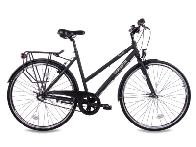 City One Damenrad 3G Shimano Nexus schwarz matt