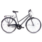 Chrisson City One Damenrad 7G Shimano Nexus anthrazit matt