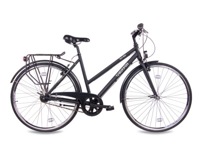 City One Damenrad 7G Shimano Nexus schwarz matt