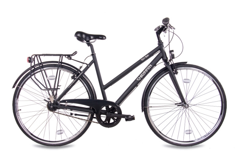 Chrisson - City One Damenrad 7G Shimano Nexus schwarz matt