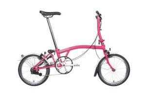 BromptonM6LD Hot Pink