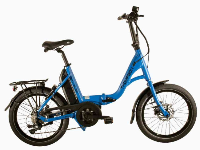 Thompson Traveler E-Bike Faltrad rot