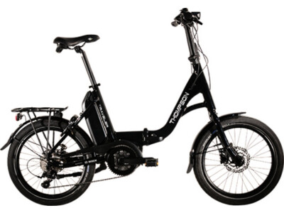 Thompson Traveler E-Bike Faltrad Gates Riemen schwarz