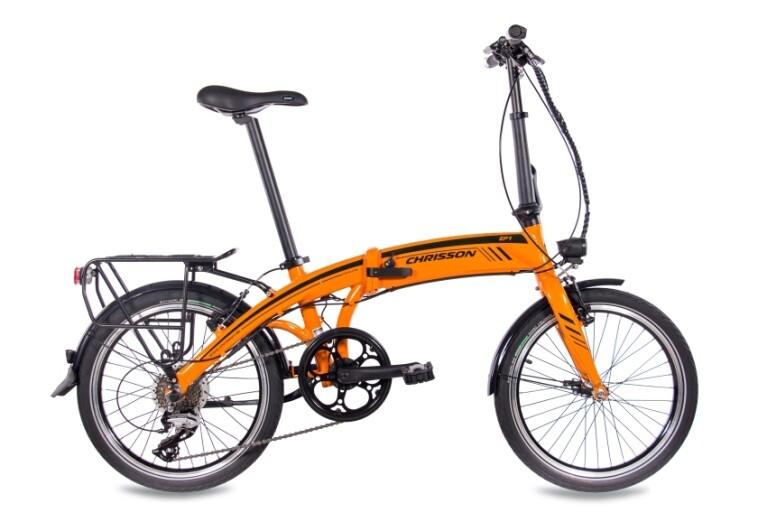 Chrisson - EF1 8G ACERA & BAFANG GENERATION 2 8,7AH  orange