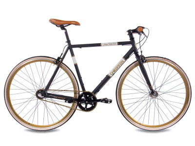 Vintage Road Nexus 3G Urban Bike schwarz matt