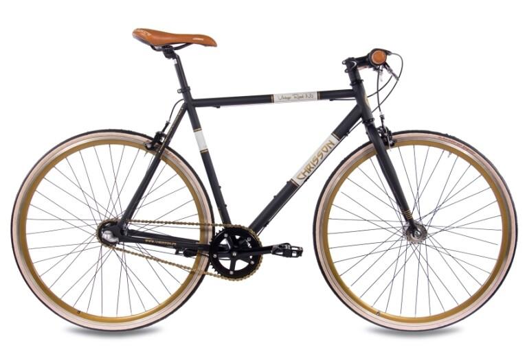 Chrisson - Vintage Road Nexus 3G Urban Bike schwarz matt