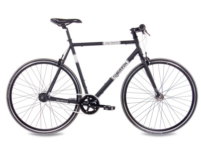 Vintage Road Nexus 7G Urban Bike schwarz matt
